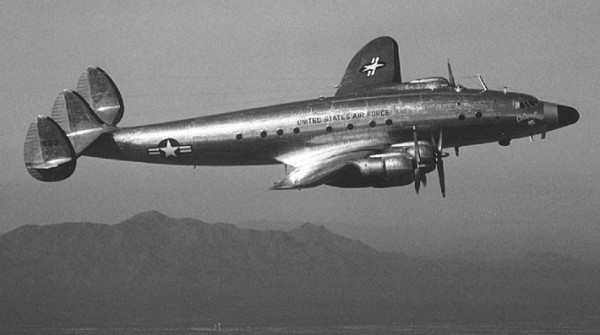Columbine II during a flight in the 1950s (Photo: First Air Force One/Facebook)
